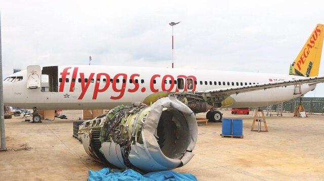 Uçak parçalarının sökülme işlemlerinin 15 Eylül'de bitmesi planlanıyor.