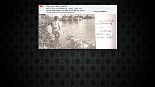 Kitapta, 'Bengalliler yerel halkı vahşice öldürüyor' ifadesi yer alıyor.nn