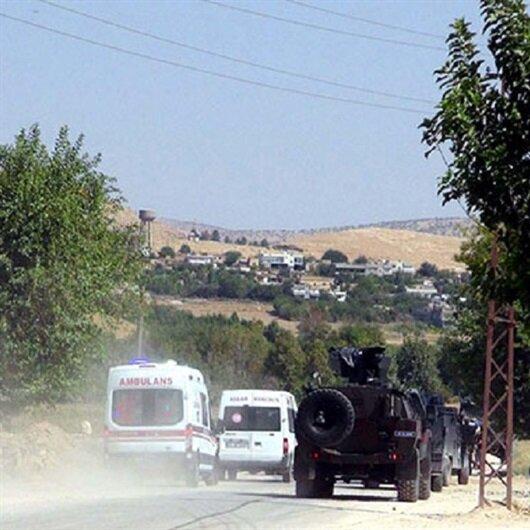 Mardin'de askeri aracın geçişi sırasında patlama
