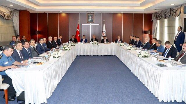 İstanbul'da üst düzey güvenlik toplantısı