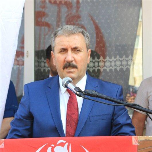 BBP lideri Destici'den terör destekçilerine sert sözler