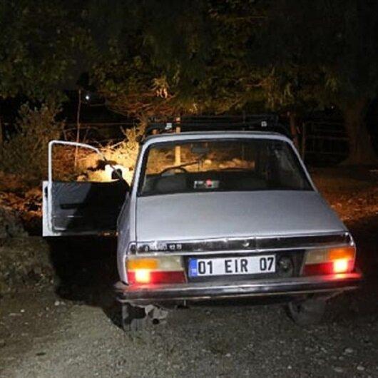 Gece yarısı sır olay: Mahalleli araca yaklaşınca gözlerine inanamadı
