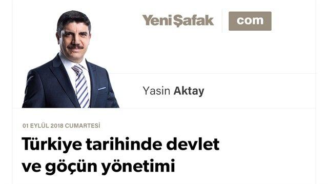 Türkiye tarihinde devlet ve göçün yönetimi