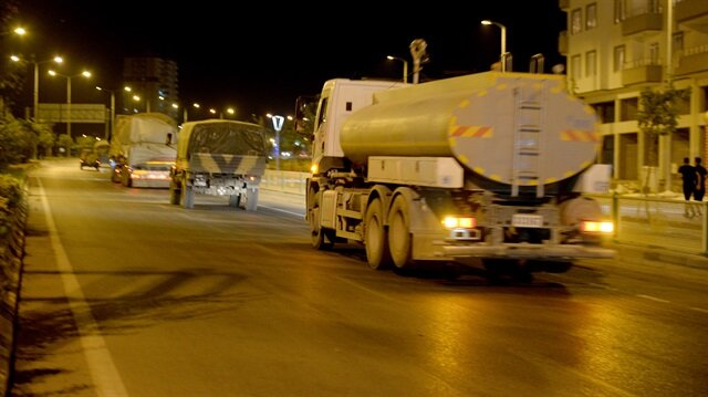 Menbiç ile Tel Rıfat bölgesine sevkiyat sürüyor