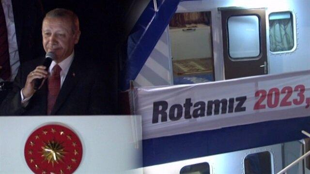 Başkan Erdoğan Vira Bismillah dedi