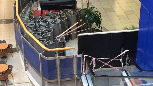 Metrocity AVM'nin X-Ray ve yürüyen merdivenleri haczedildi