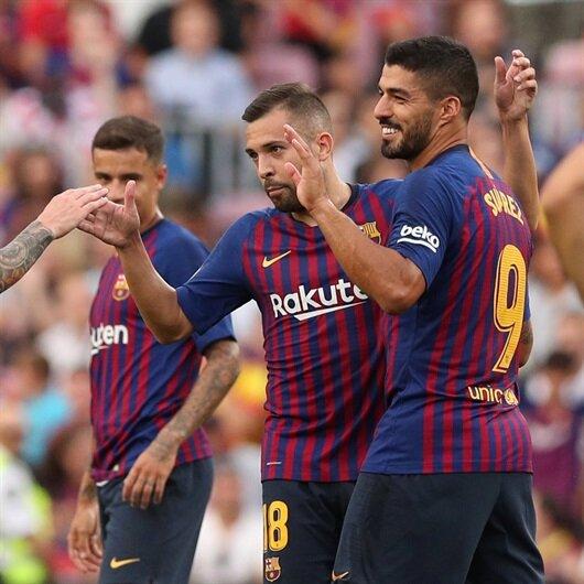 Barcelona'dan gol şov