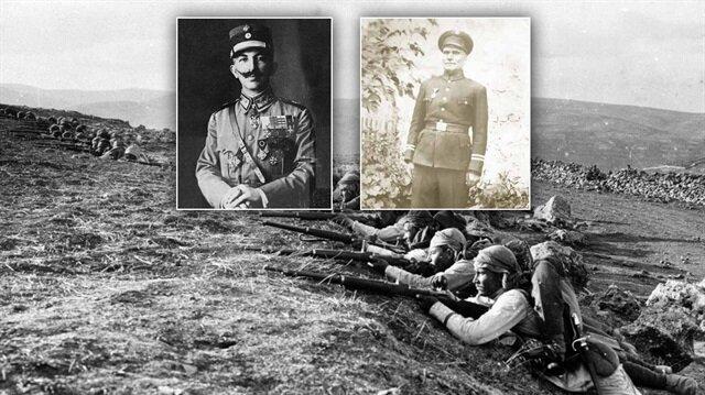 Yunan başkomutanı esir alan Türk askeri