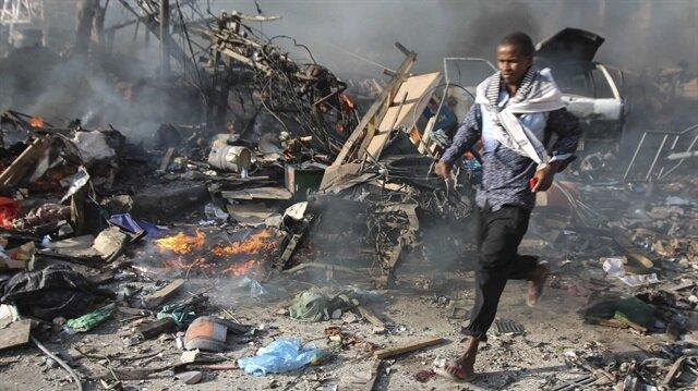 Somali'deki saldırıda 2 kişi hayatını kaybederken, saldırıyı henüz üstlenen bir örgüt olmadı. Arşiv.