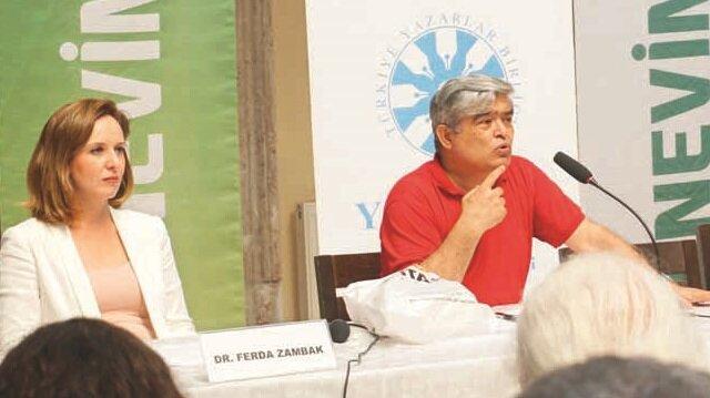 Kızlarağası Medresesi'nde gerçekleşen etkinlikte Ferda Zambak, Namık Açıkgöz ve Bahtiyar Aslan, Tarık Buğra'yı anlattı.