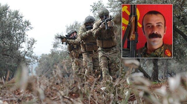 Güvenlik güçlerinin operasyonlarında öldürülen teröristin gri kategoride yer alan isimlerden biri olduğu açıklandı.