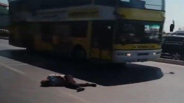Beyoğlu'nda insanlık öldü dedirten görüntüler