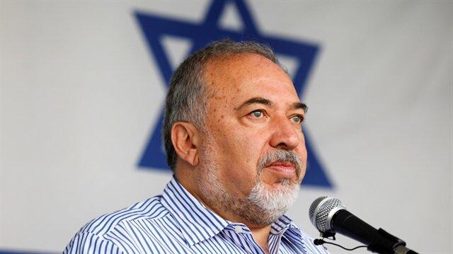 Israeli Defence Minister Avigdor Lieberman