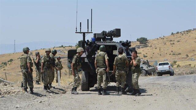 Hakkari'de askeri operasyon