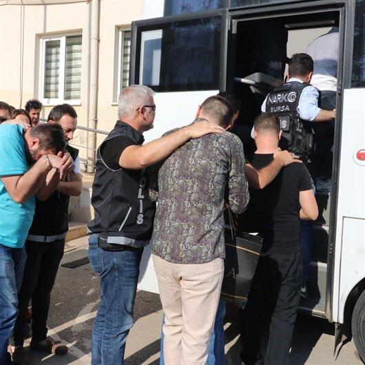 Bursa'da uyuşturucu örgütü çökertildi