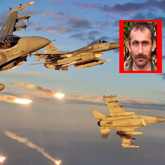 Kırmızı listedeki PKK'lı bölge sorumlusu öldürüldü