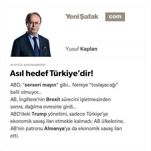 Asıl hedef Türkiye'dir! Peki, Türkiye ne yapmalı?