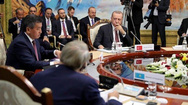 Türk Devlet Başkanları Zirvesi toplandı