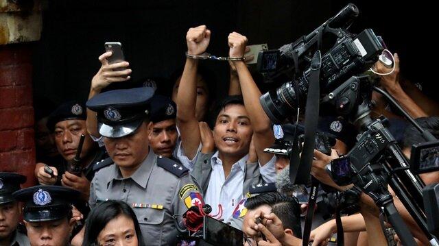 Katliamı ortaya çıkaran Reuters muhabirlerine hapis cezası!