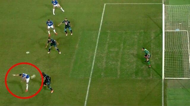 Ne yaptın Quagliarella... İtalyan yıldızdan fantastik gol