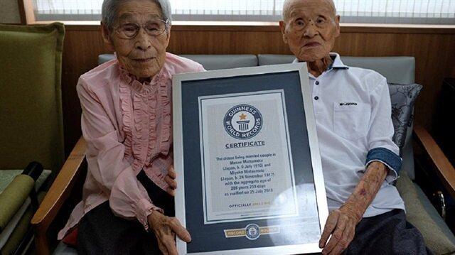 80 yıldır evli olan çift Guinness'e hak kazandı: Sabrım sayesinde