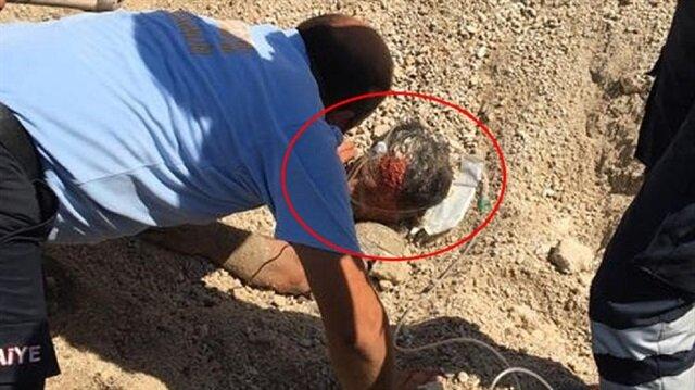 Mersin'de iş kazası