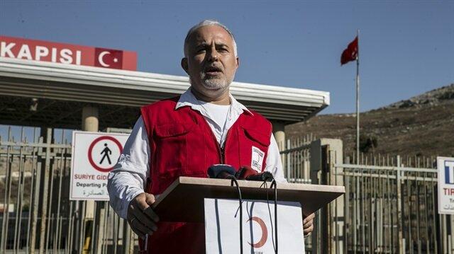 İdlib bölgesinde incelemeler yapan Türk Kızılayı Genel Başkanı Kerem Kınık, daha sonra Cilvegözü Sınır Kapısı'nda gazetecilere değerlendirmelerde bulundu.