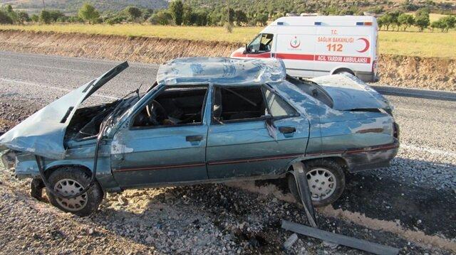 Adıyaman'daki kazada 6 kişi yaralandı
