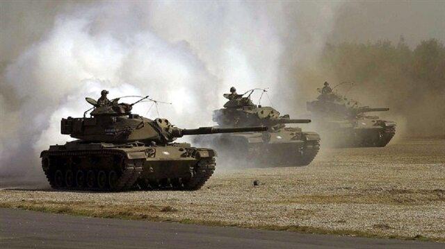 M-60 tankları Suriye sınırına gidiyor
