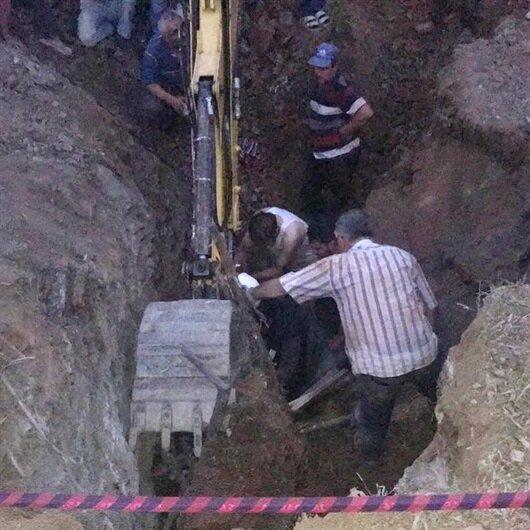 Kütahya'da göçük altında kalan kişi öldü