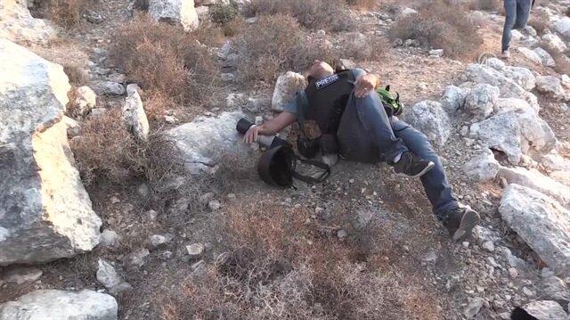 İşgalci israil AA muhabirine ateş açtı
