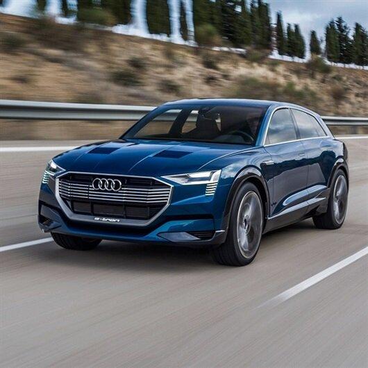 Audi e-tron üretim bandına girdi