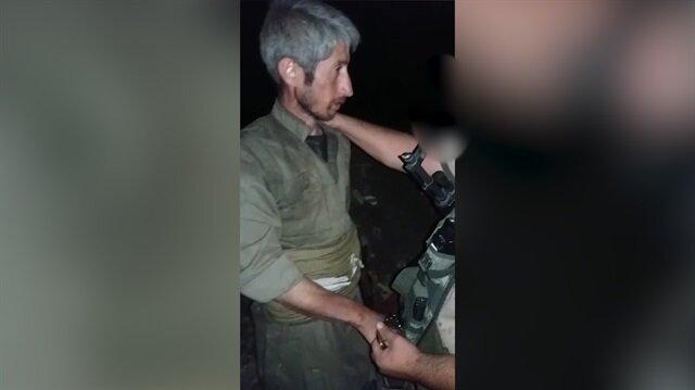 PKK'lı teröristlerin teslim alındığı görüntülere Yenisafak.com ulaştı