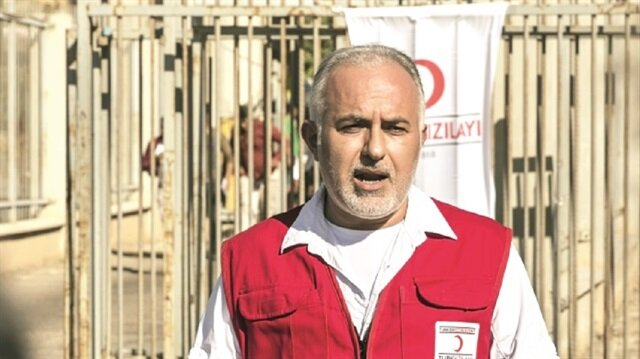 Head of the Turkish Red Crescent Kerem Kınık