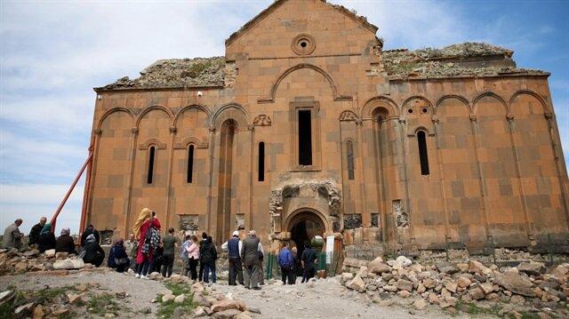 Kars'ı 7 ayda 66 bin kişi ziyaret etti.