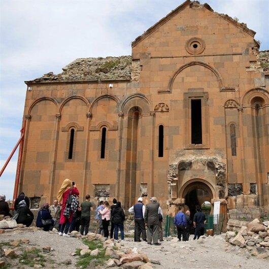 Kars'ı 7 ayda 66 bin kişi gezdi