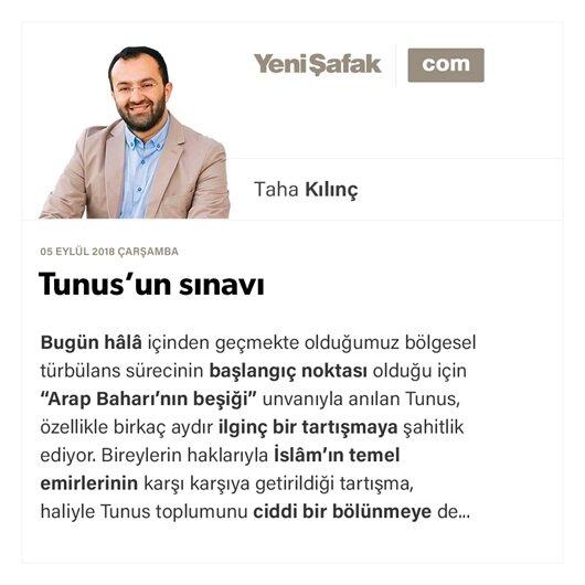 Tunus'un sınavı