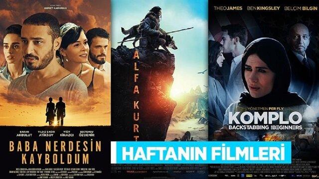 Bu hafta 7 film sinemaseverlerle buluşacak.