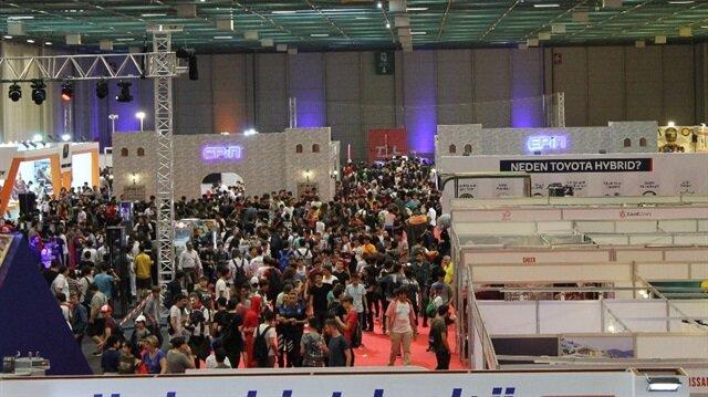 GameX 2018 fuarına geçtiğimiz yıl 150 bin katılım olmuştu, bu yıl katılımın 200 bini geçmesi bekleniyor.