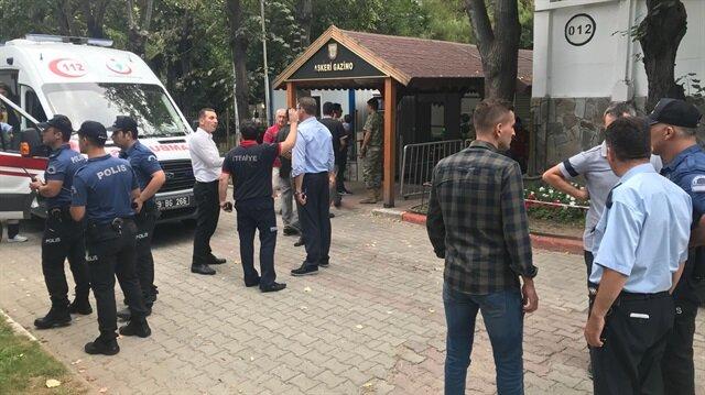 Olay yerine, Kırklareli Belediyesi itfaiye ekipleri ve ambulanslar sevk edildi.