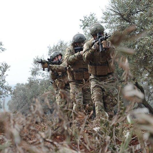 TSK: Saldırı hazırlığındaki 4 terörist öldürüldü