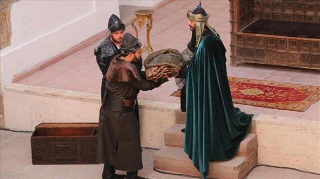 3. Alaaddin'in temsili beratı Söğüt'e gönderildi