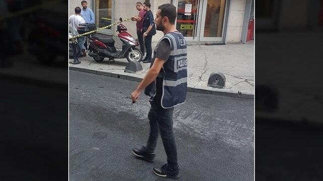 Şişli'de kanlı banka soygunu