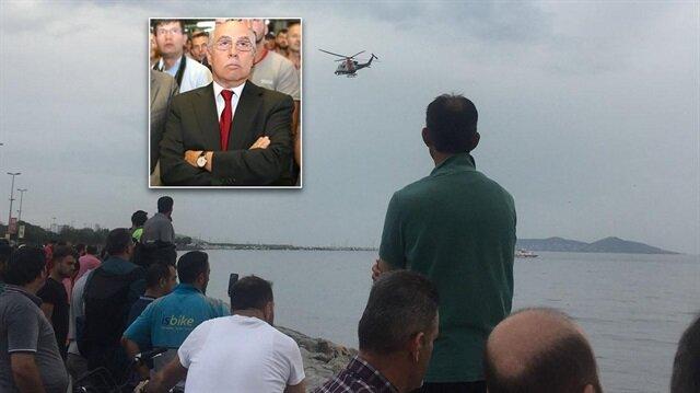 OTOKAR Yönetim Kurulu Başkanvekili Halil İbrahim Ünver'in içinde bulunduğu helikopter Bostancı açıklarında denize düştü.