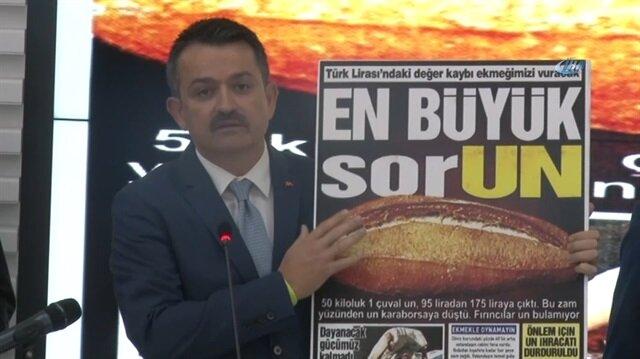 Bakan'dan ekmek zammı açıklaması