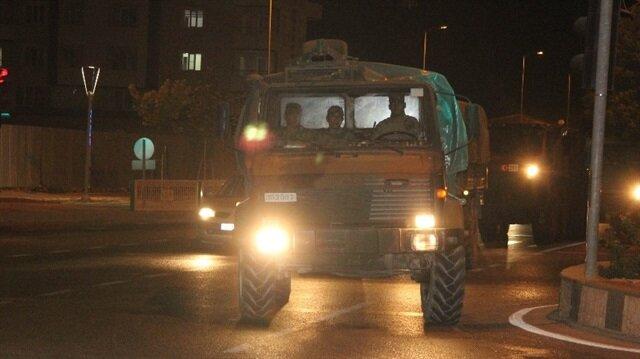 Suriye'ye Kilis üzerinden askeri sevkiyat peyderpey devam ediyor