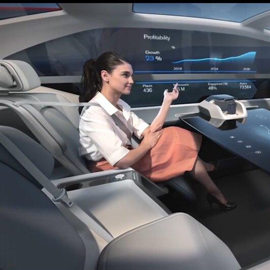 Geleceğin seyahat konsepti: Volvo 360c