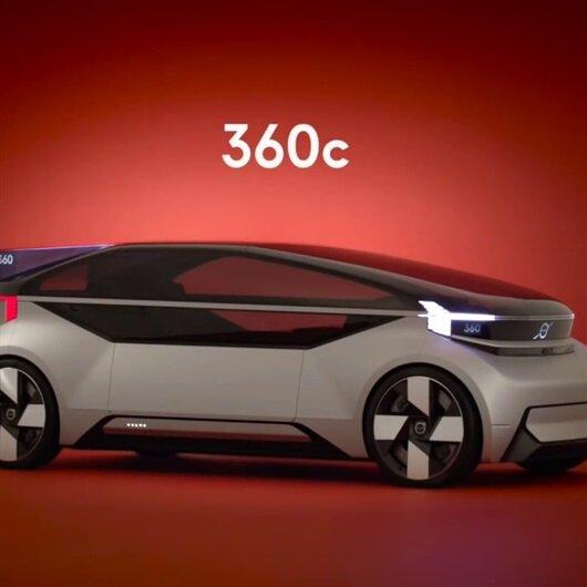 Volvo'dan geleceğin seyahat konsepti