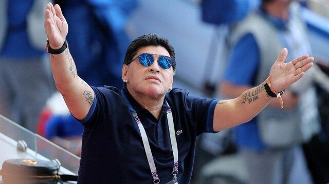 Maradona'nın yeni takımı belli oldu