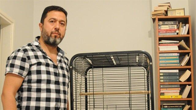 Polis memuru vatandaş, kayıp olan papağını bulup getirene ödül vereceğini söyledi.